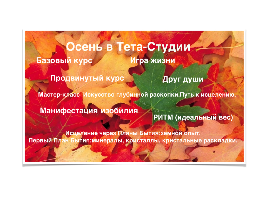 Осень в Тета-Студии..001